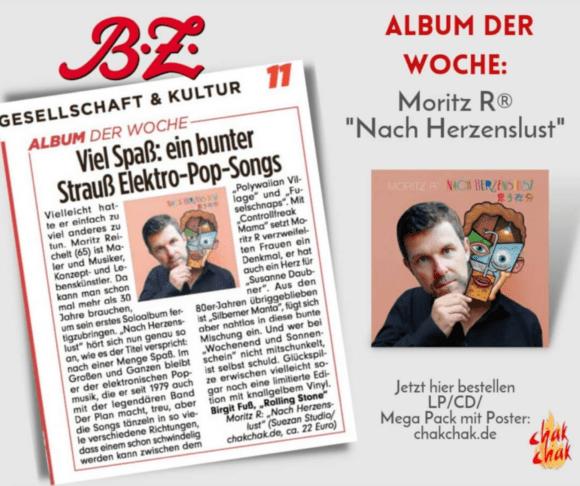 BZ Moritz Reichelt Moritz R Nach Herzenslust